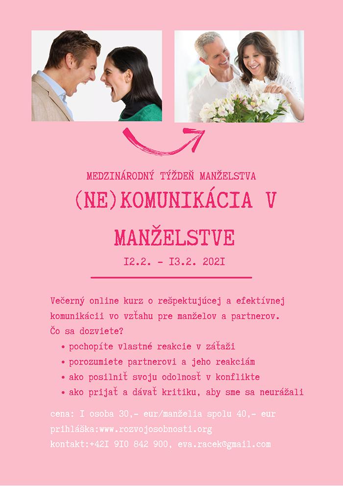 Kurz: (Ne) Komunikácia v manželstve